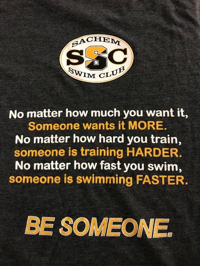 [Image] My son's new swim club T!
