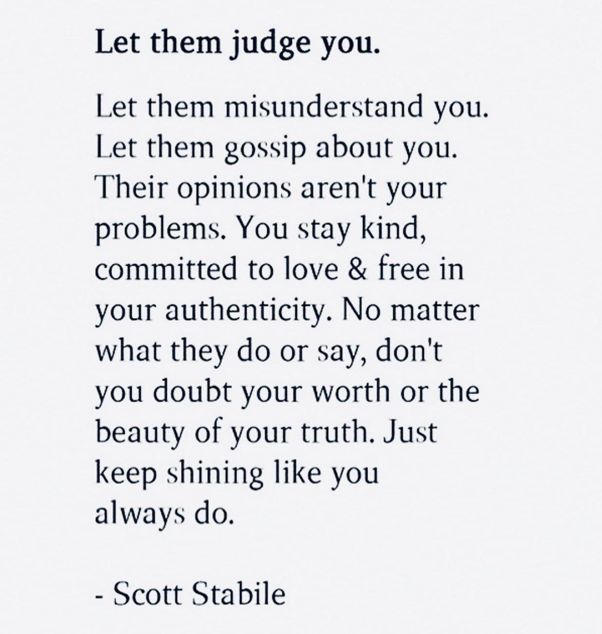 [Image] Their opinions aren't your problems.