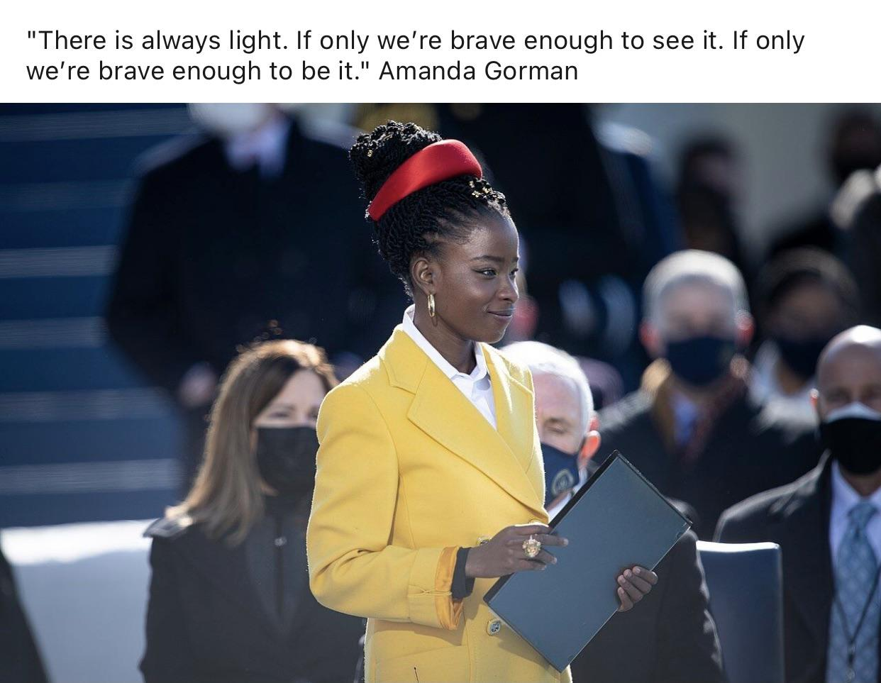 [Image] See the light, be the light and then become the light for others.
