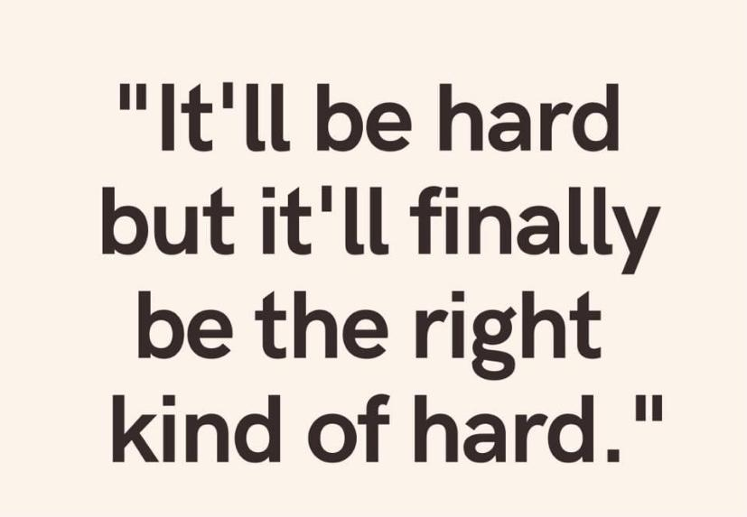 [Image] The right kind of hard.