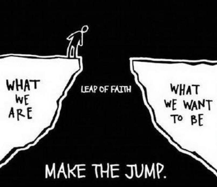 [image] leap of faith