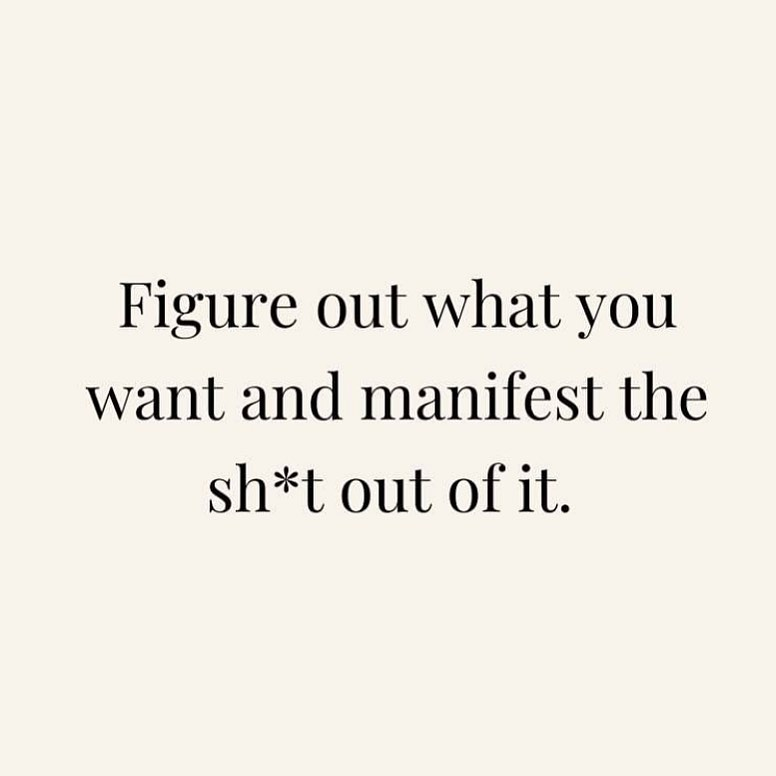 [Image] Manifest with me…