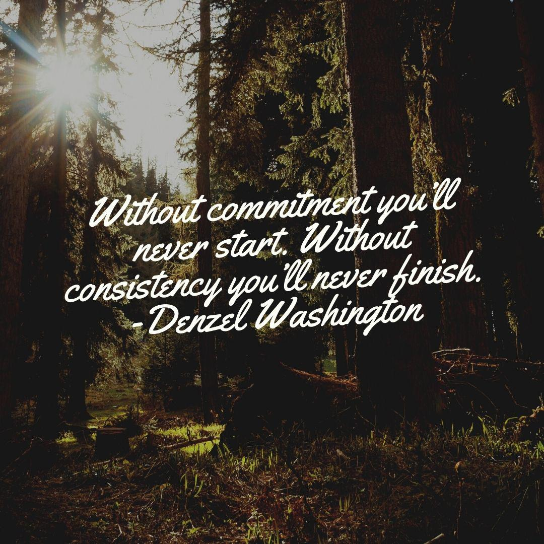 [Image] Make a commitment with yourself.