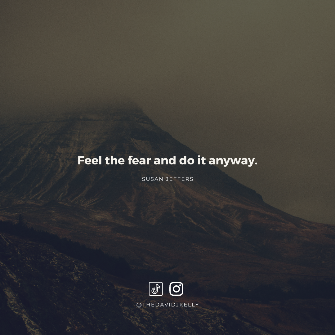 [IMAGE] How to you push through fear?