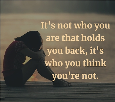 [Image] It's who you think you're not.