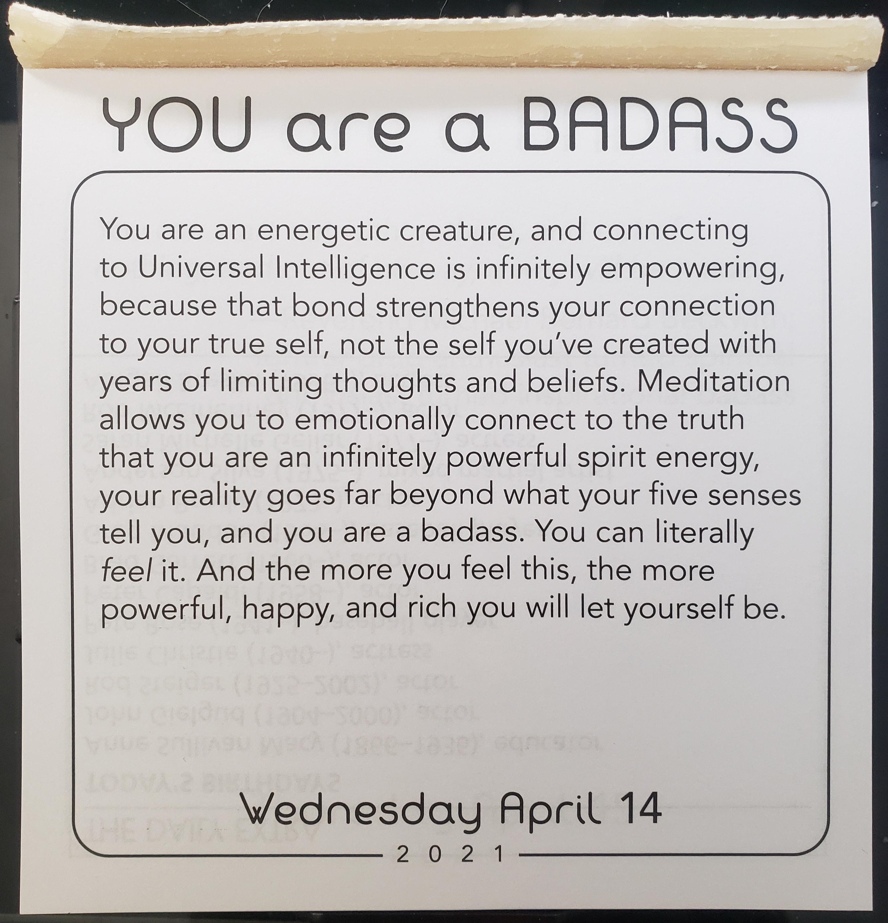 [IMAGE] Wednesday Motivation