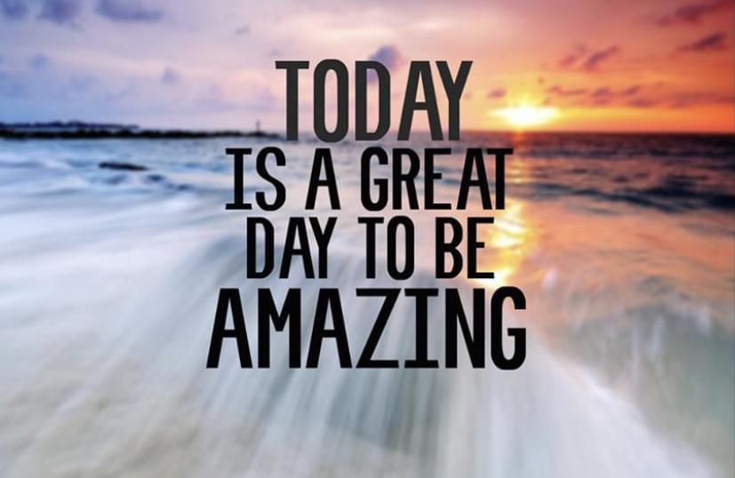 [Image] Be amazing!