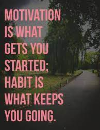 [Image] It's what gets you started.