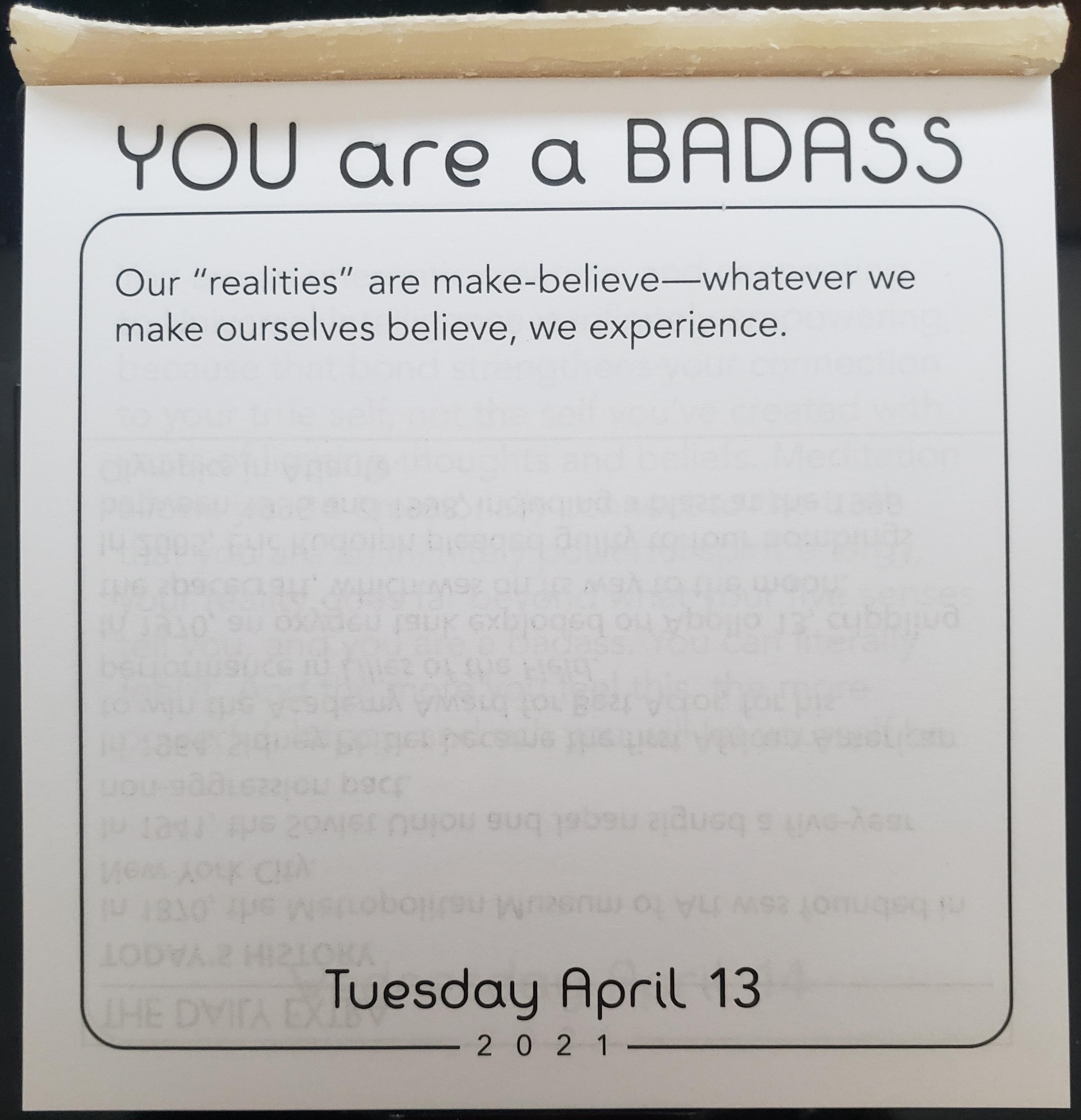 [IMAGE] Tuesday Motivation