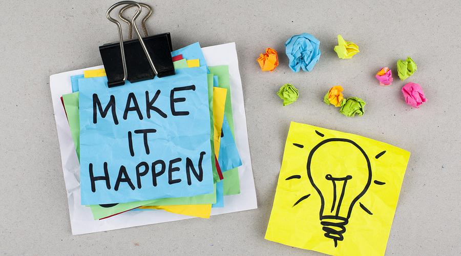 [Image] Make it happen.