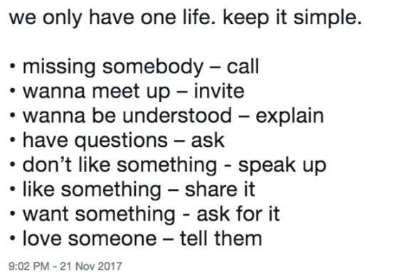 [Image] Keep it simple