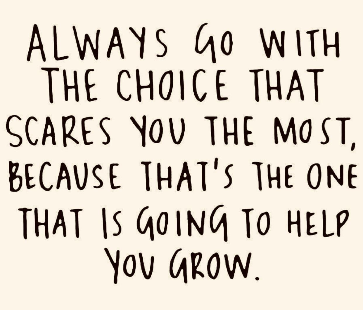 [Image] This is how you grow.