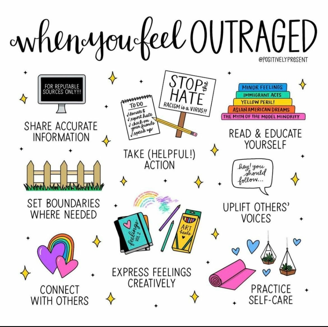 [Image] Challenging myself to turn outrage into betterment during all of this chaos.