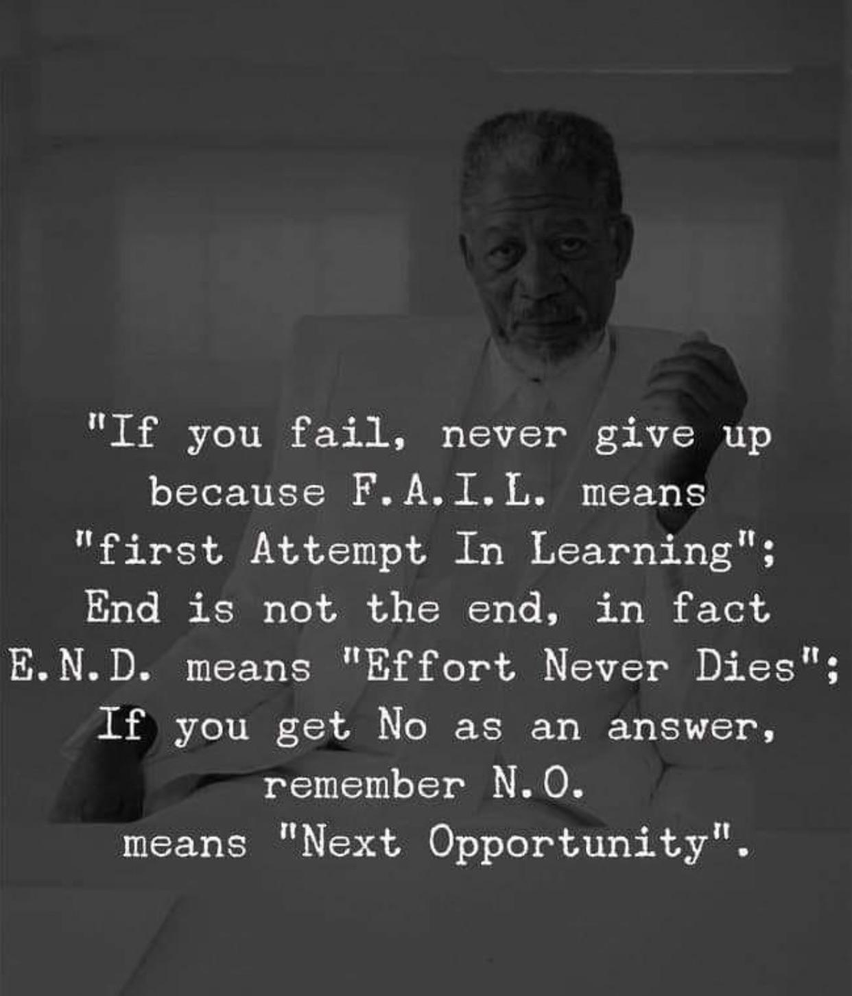 [Image] Never give up. Here's why.