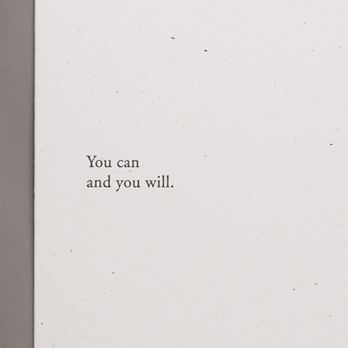 [Image] You can and you will.