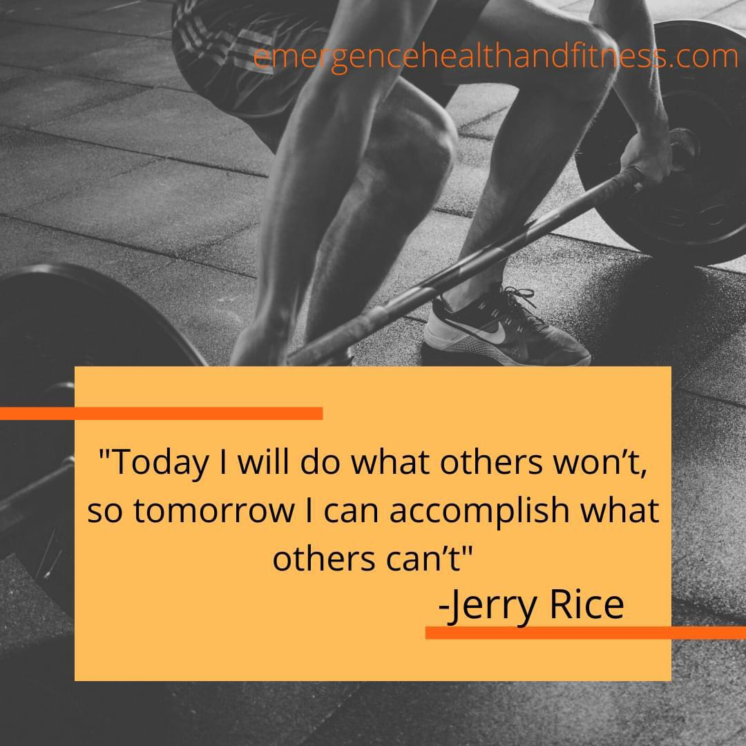 """""""Today I will do what others won't….."""" Jerry Rice [1280×720]"""