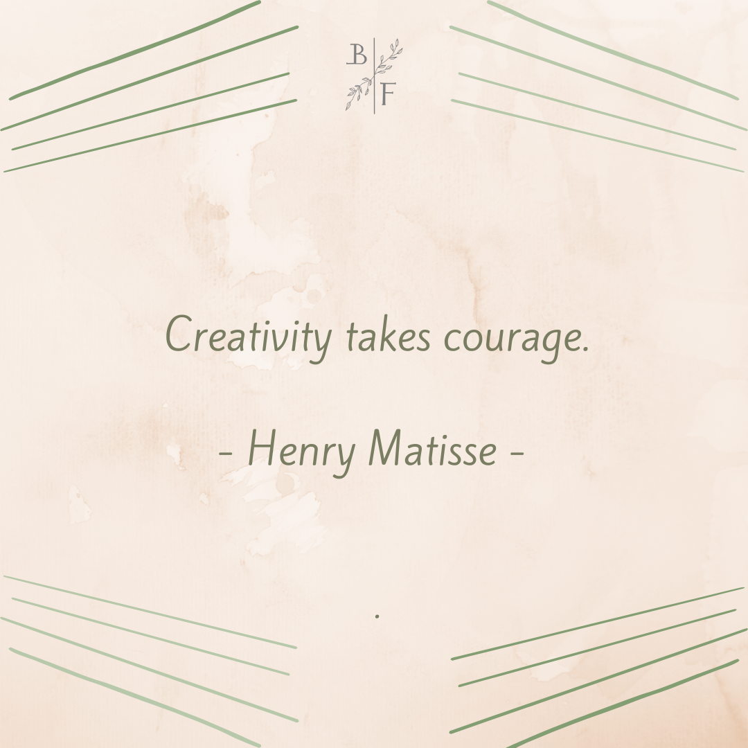 Henry Matisse – Creativity takes courage [1080×1080]