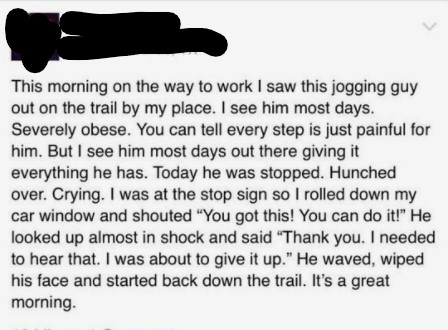 [Image] If this guy can do it, so can you.
