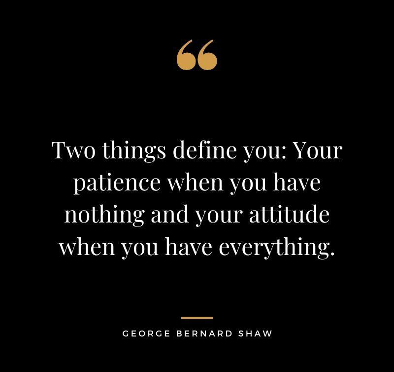 [IMAGE] Two things that define you.