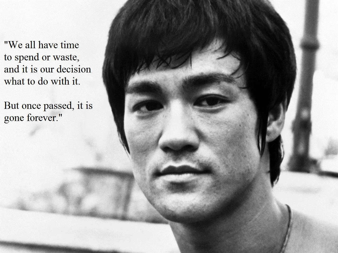 [Image] Motivational Bruce Lee quote
