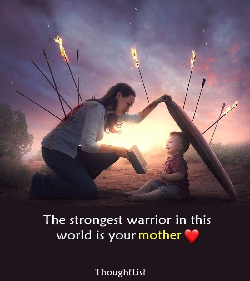 'Mother' The strongest warrior in this world ❤️ [800*900]