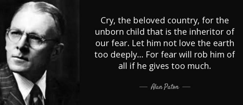 """""""Cry, the Beloved Country for the unborn child"""" -Alan Paton [768×341]"""