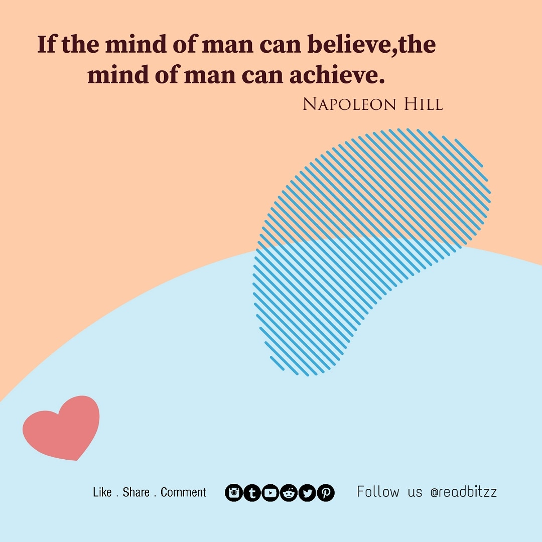 If the mind of man can believe, the mind of man can achieve.-Napoleon Hill (1000×1000)