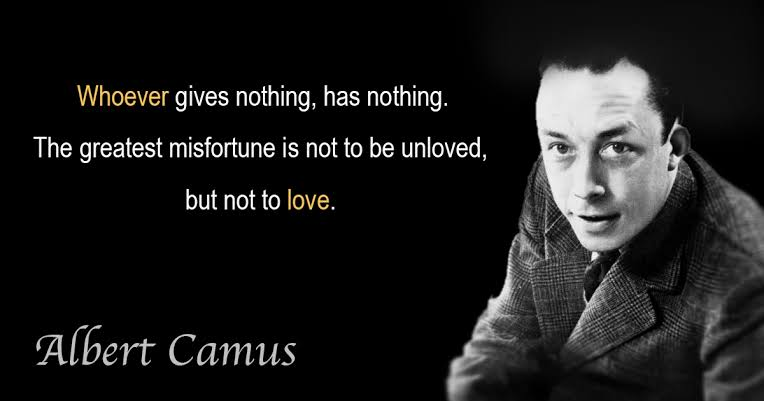 The greatest misfortune is not to be unloved, but not to love. [764×401]