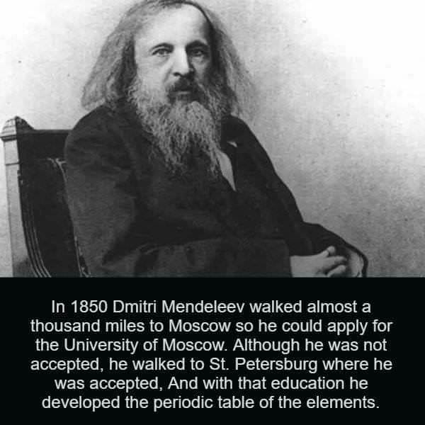[Image] And he walked 500 more miles to St. Petersburg