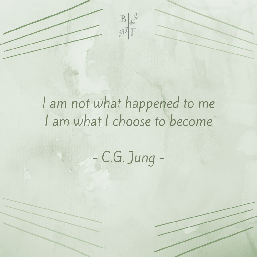I am not what happened to me I am what I choose to become – C.G. Jung [1080×1080]