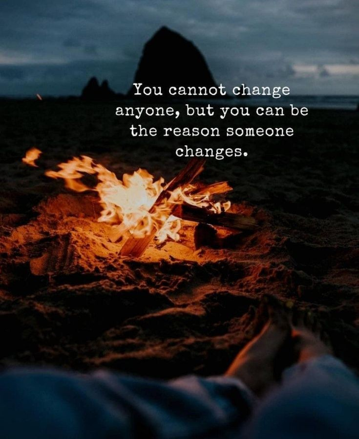 """You cannot change anyone but you can be the reason someone changes."" –Roy T. Bennett [735×898]"