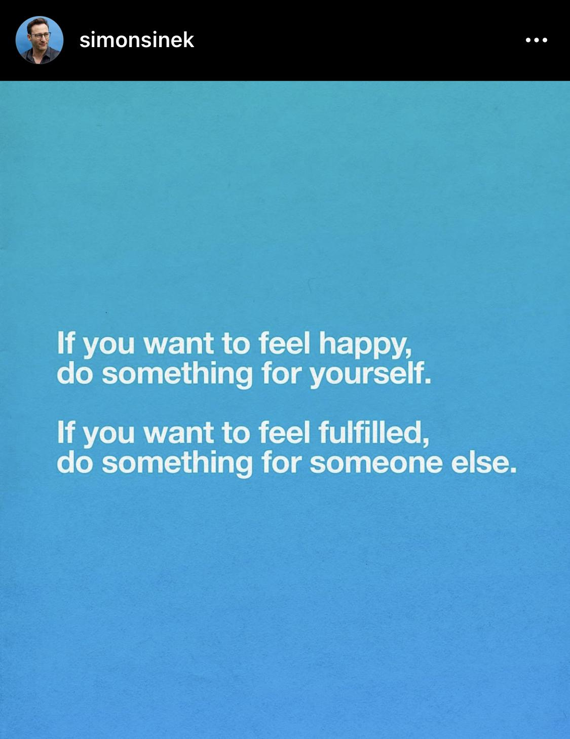 [Image] Happy vs Fulfilled