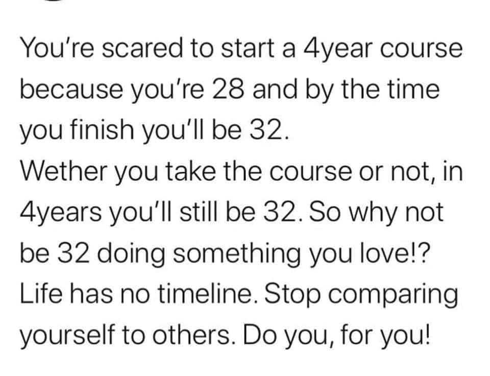 [Image] Life Has No Timeline
