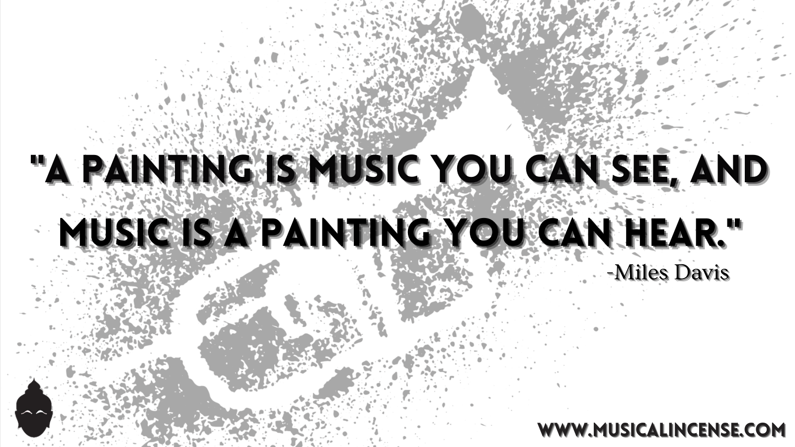 "A painting is music you can see, and music is a painting you can hear."" ~ Miles Davis [1600 x 900]"