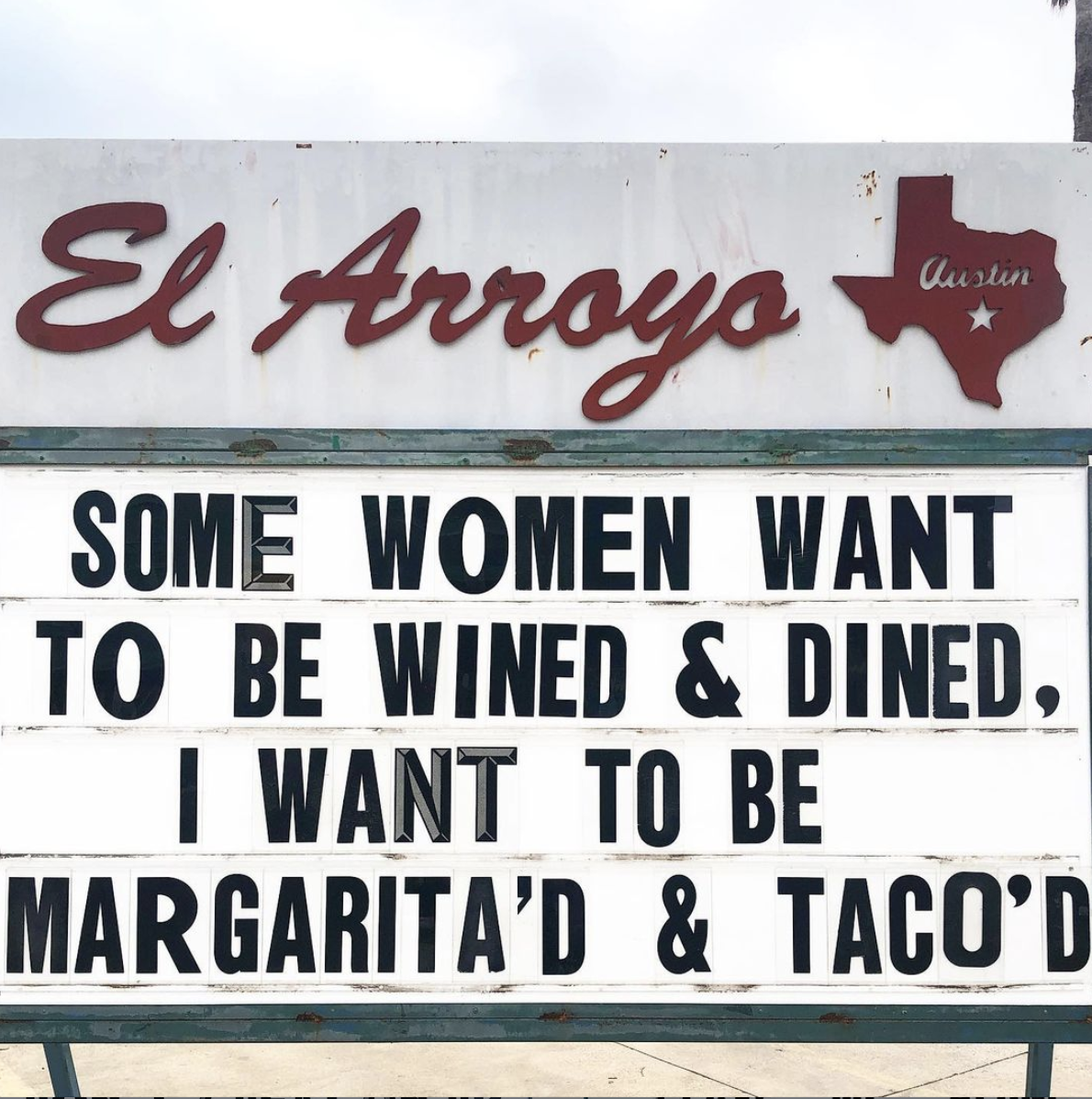 Quoted from El Arroyo Sign! 5/18/2021 [1190×1198]