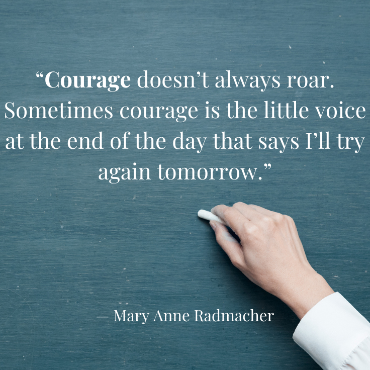 [IMAGE] Courage!