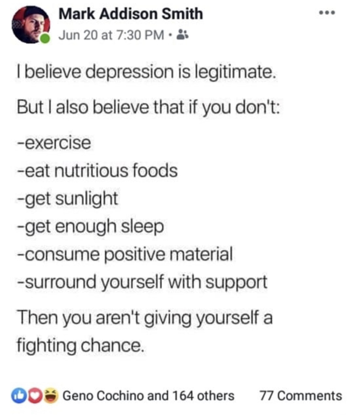 [Image] Give yourself a fighting chance