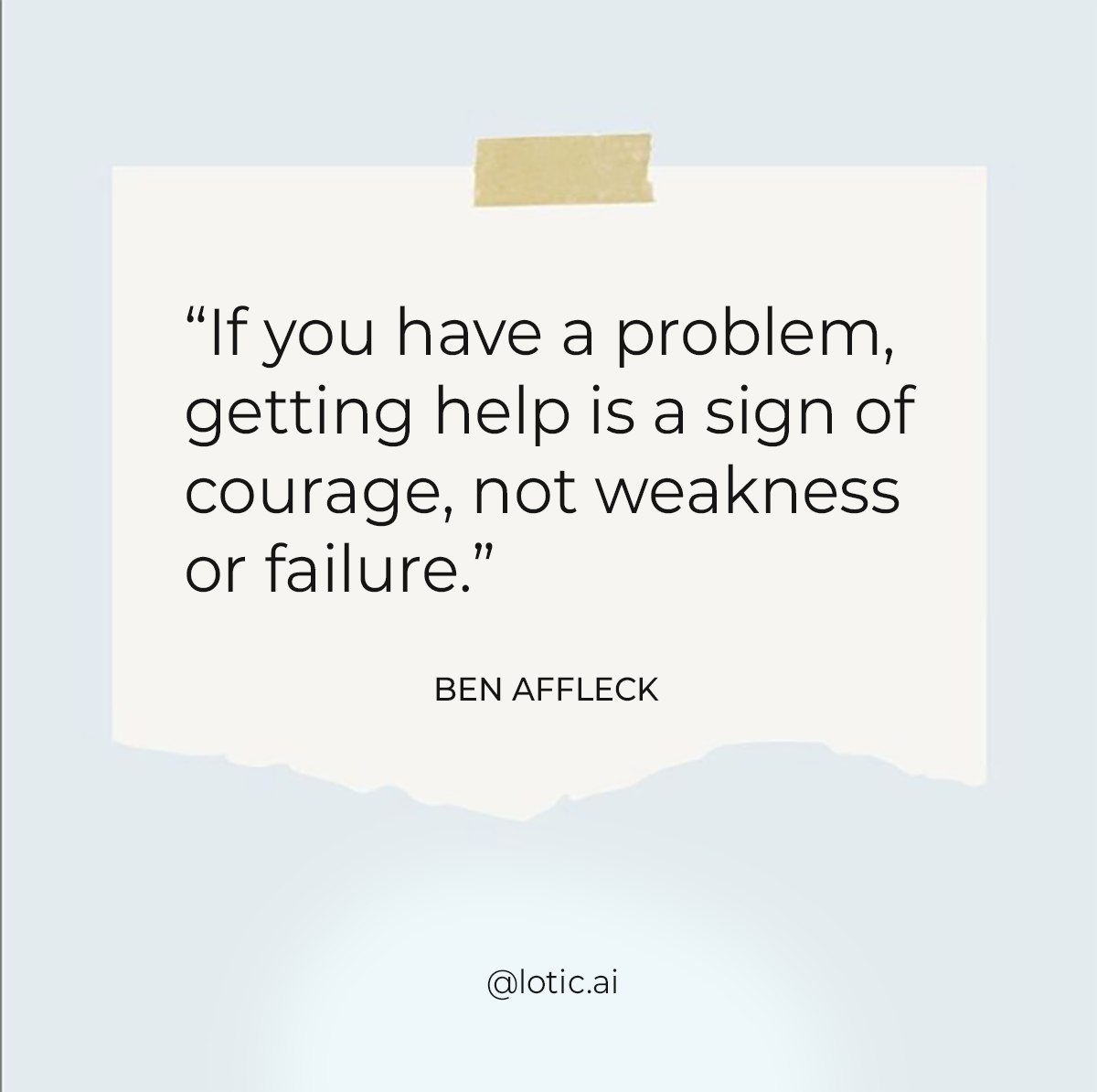 [Image] Don't be afraid to ask for help.