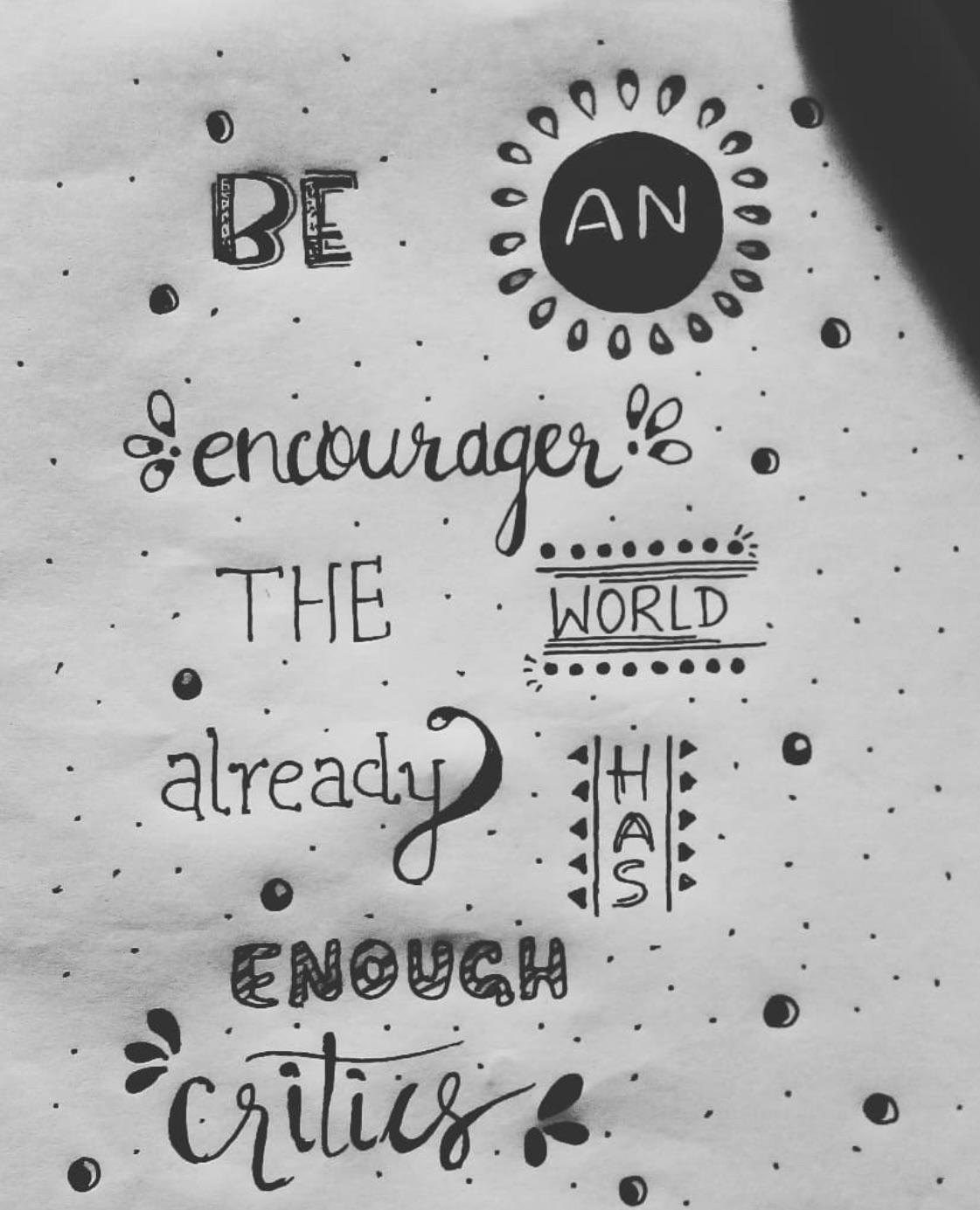 Be an Encourager, Dave Willis [1121×1385]