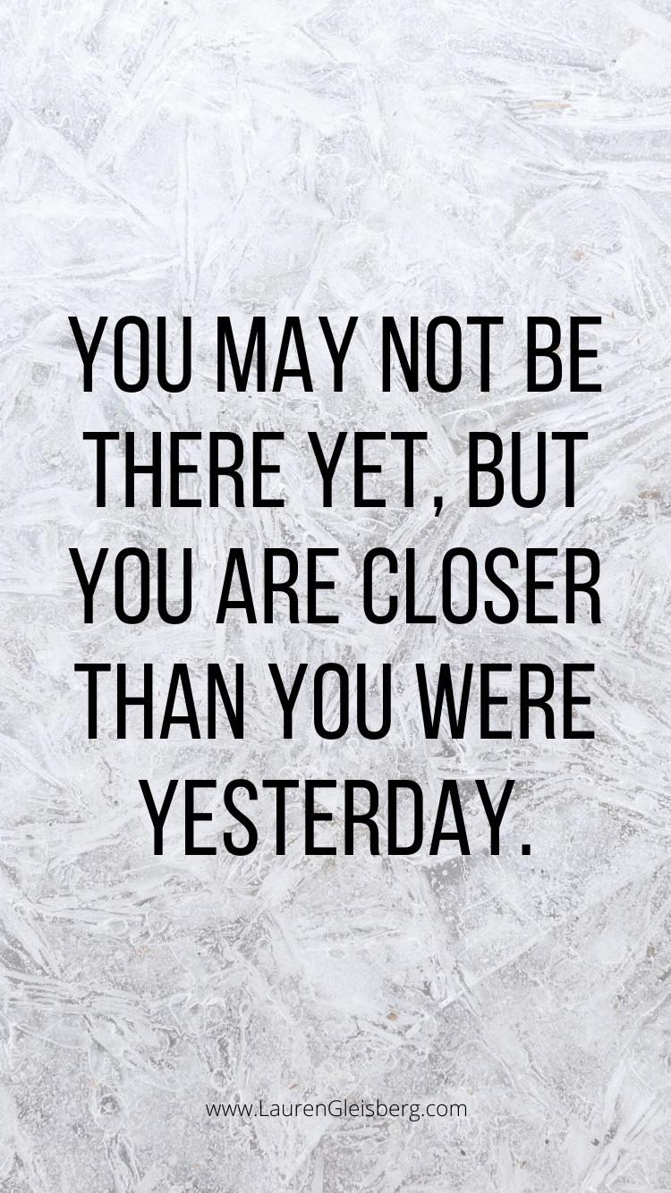 [Image] it all takes time