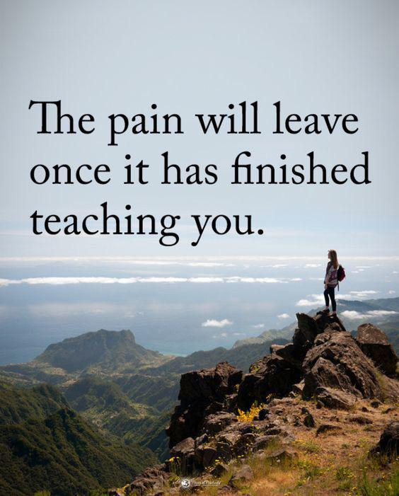 [IMAGE] The pain will leave.