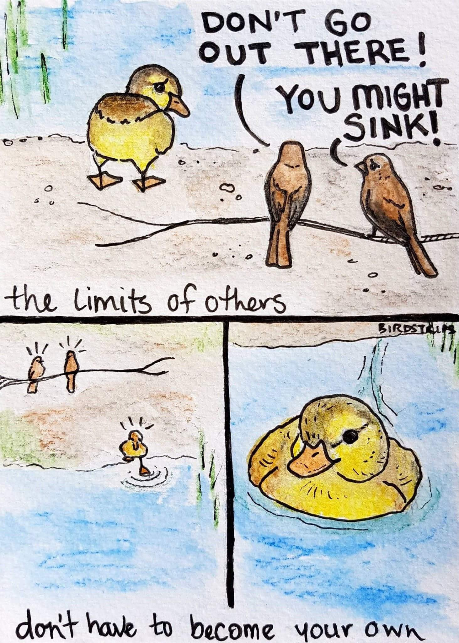 [Image] Don't compare others to yourself, it does nothing but hinder progress