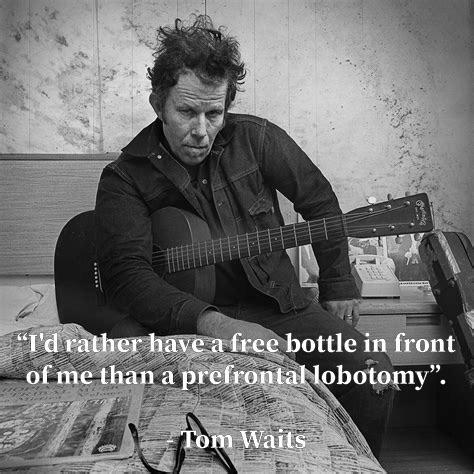 I'd Rather… Tom Waits [1305 x 1305]