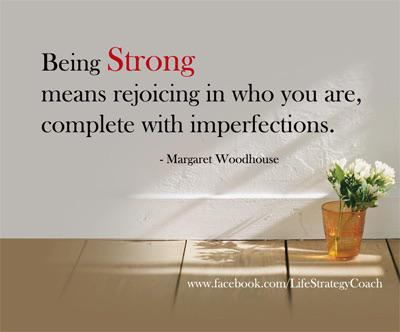 [IMAGE] Strength, even in imperfections.