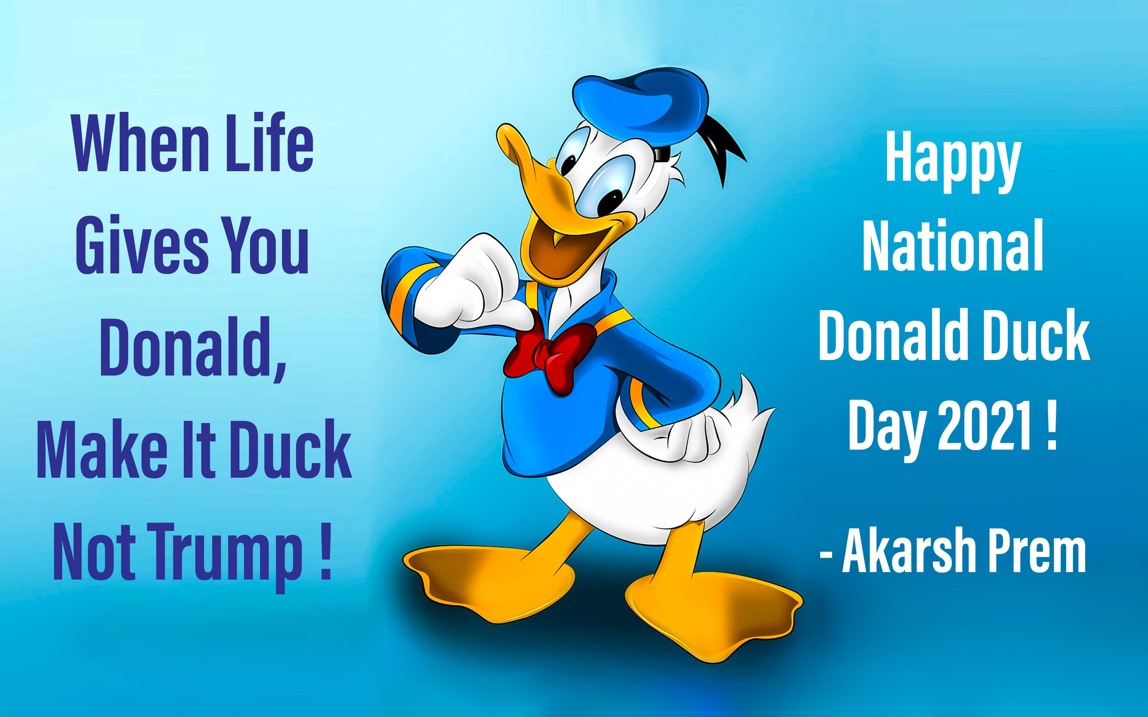 Happy National Donald Duck Day 2021 !