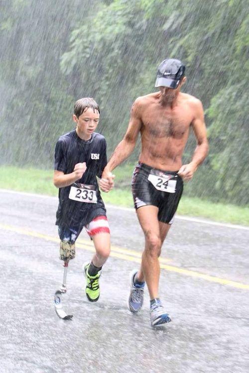 [Image] Selfless dedication.