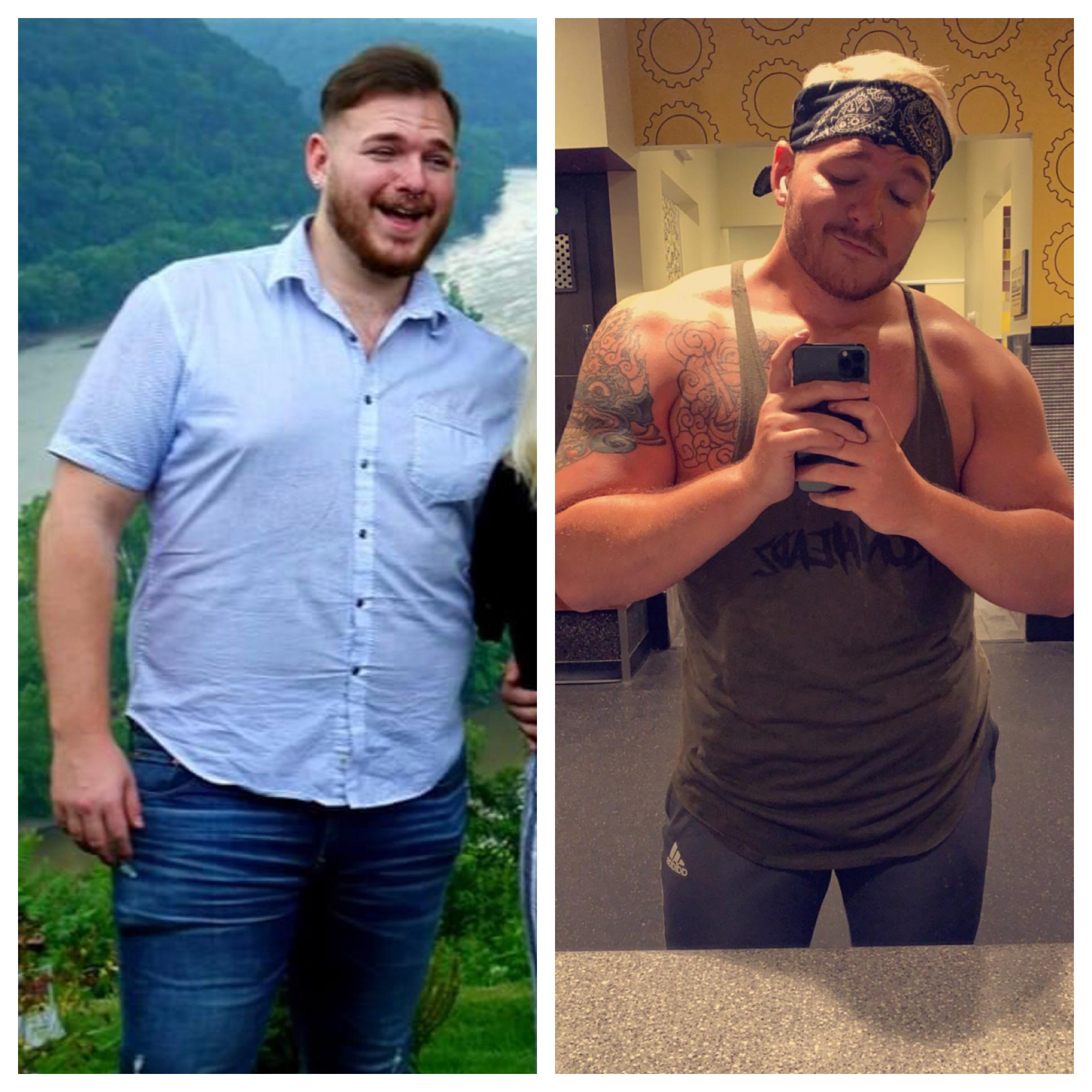 [image] About a year ago I got tired of being uncomfortable in my own body. The pandemic delayed my transformation by a few months but I can finally say I'm happy in my skin.