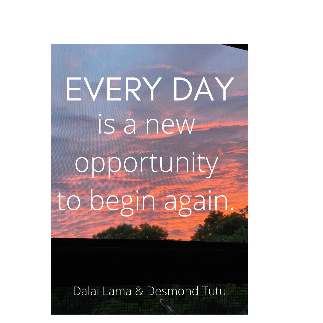 [IMAGE] you can start over everyday
