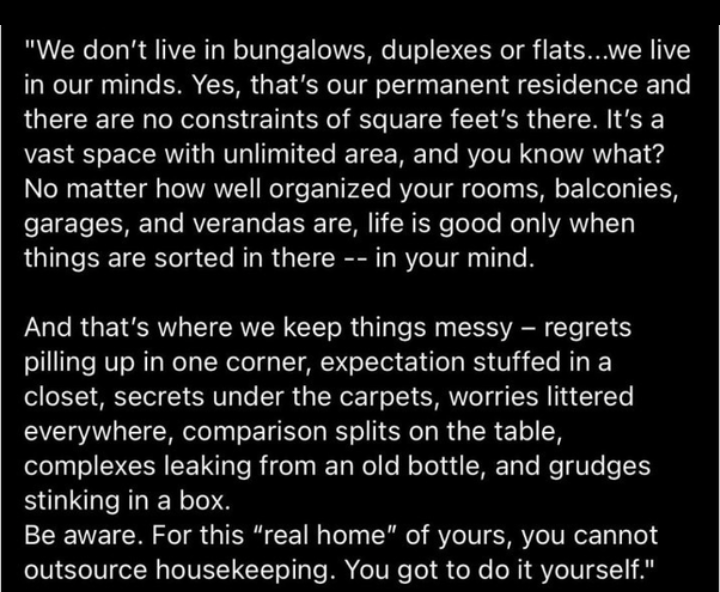 """[Image] Your """"real home"""""""