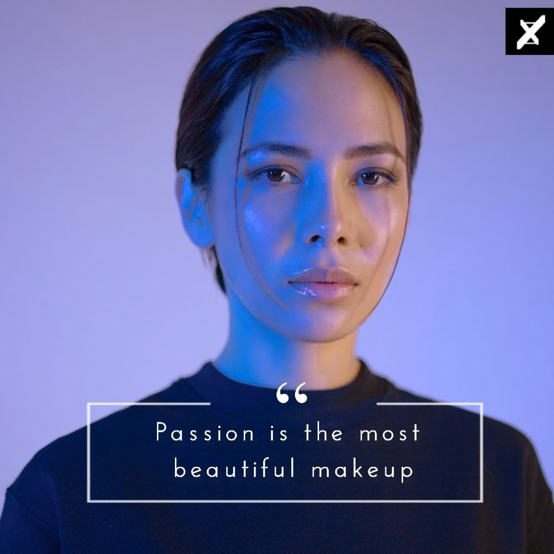 """""""Passion is the most beautiful make-up"""" ― Yves Saint Laurent [1044×1044]"""